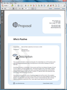 NonProfit Support Sample Proposal  The NonProfit Support Sample