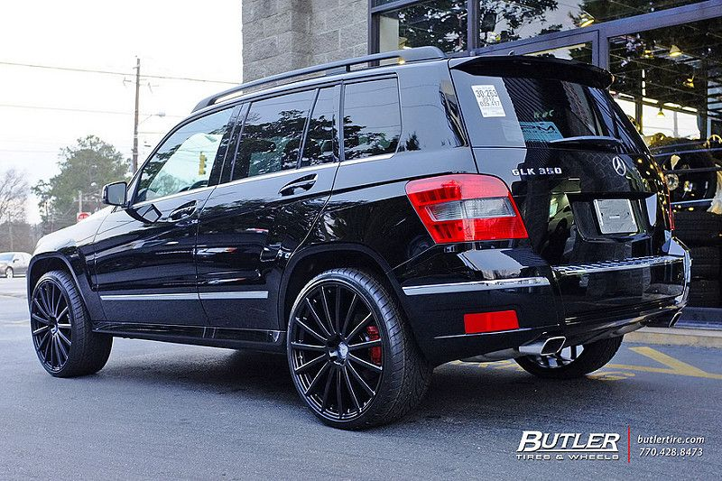 Mercedes Glk350 With 22in Mandrus Rotec Wheels Mercedes Glk Mercedes Glk 350 Mercedes Suv