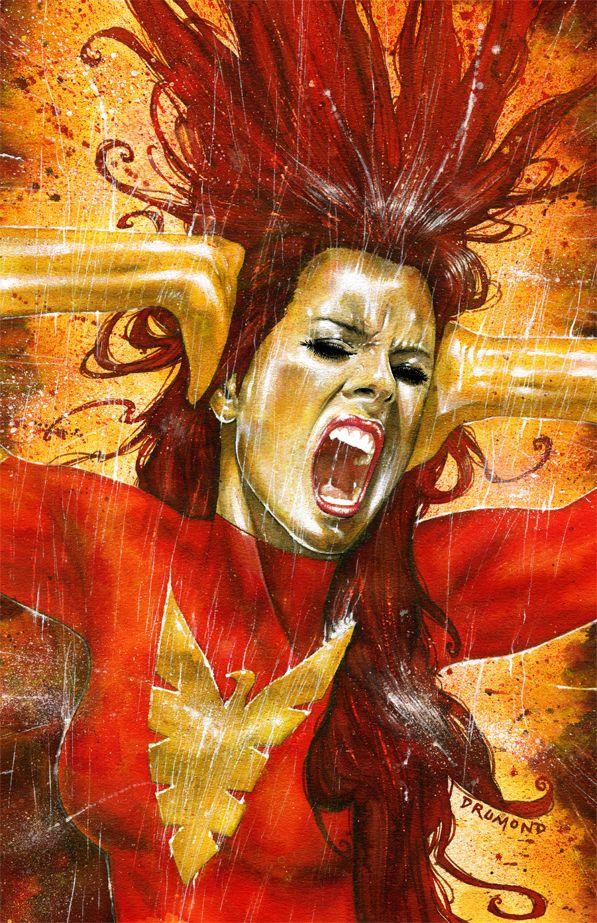 Marvel Comics paintings by Drumond Art, via Behance