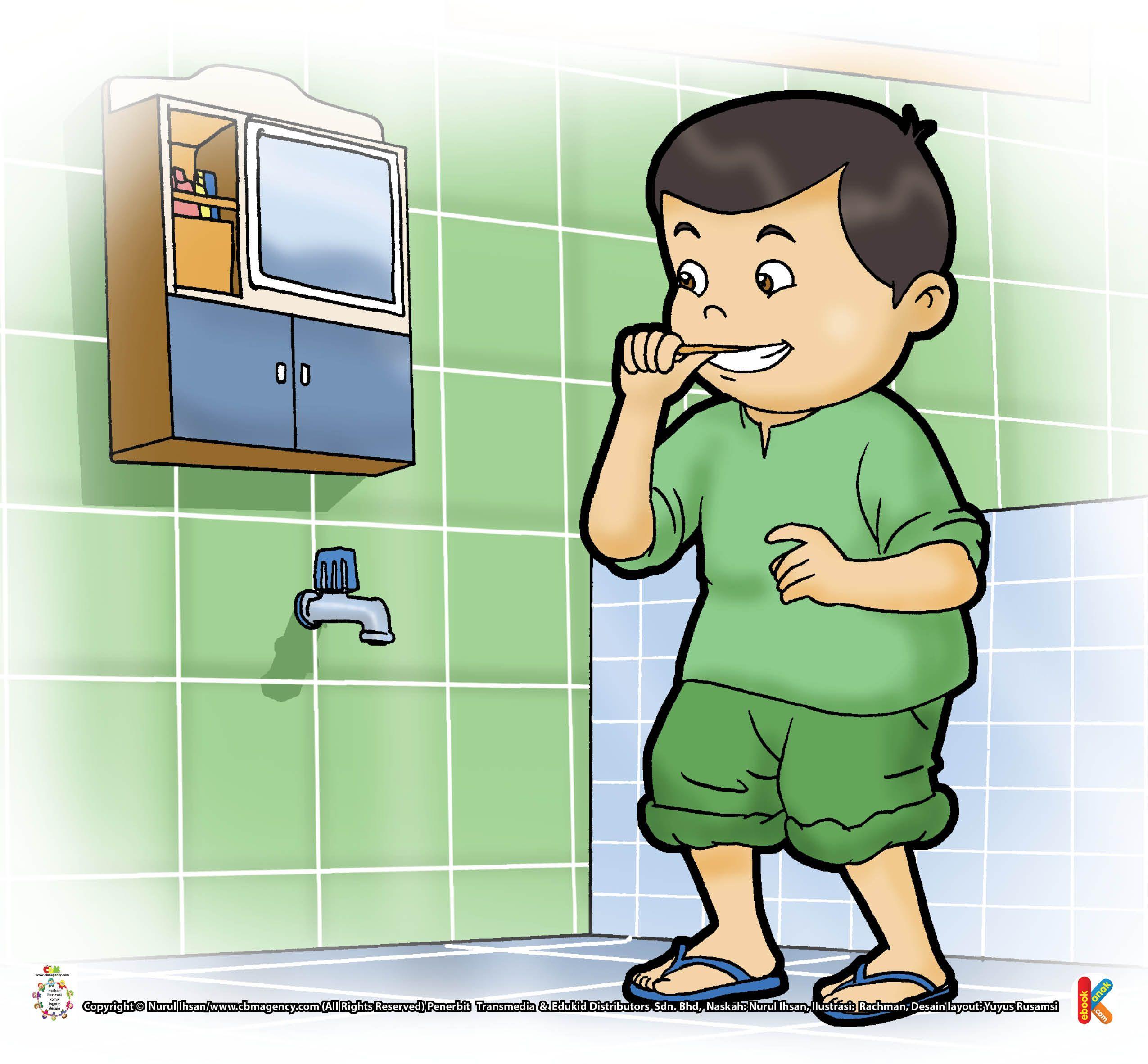 Kata Nabi Menggosok Gigi Sebelum Shalat Gigi