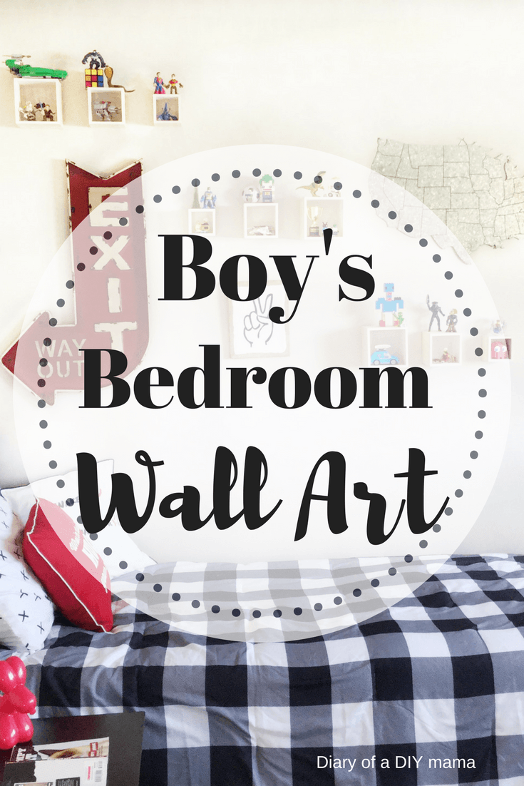 Boyus bedroom wall art display wall cubes in boyus bedroom easy