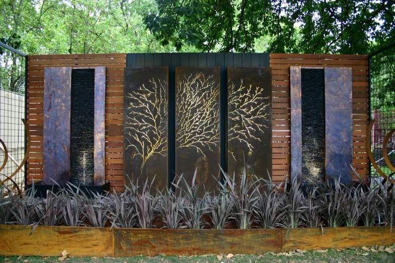 Gartendeko Ideen   Gartenskulpturen/ Lochbleche Aus Cortenstahl