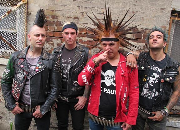 one of the best punk rock bands ever, the Casualties ...