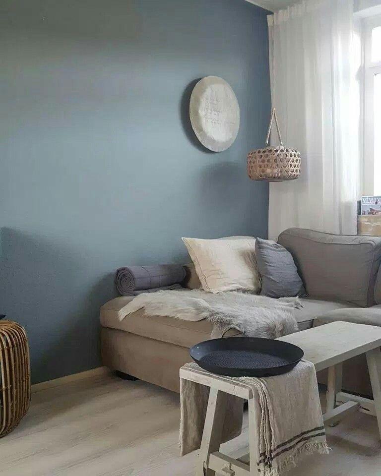 Pin von yvette heideveld auf huisinrichting pinterest for Raumgestaltung wandfarbe