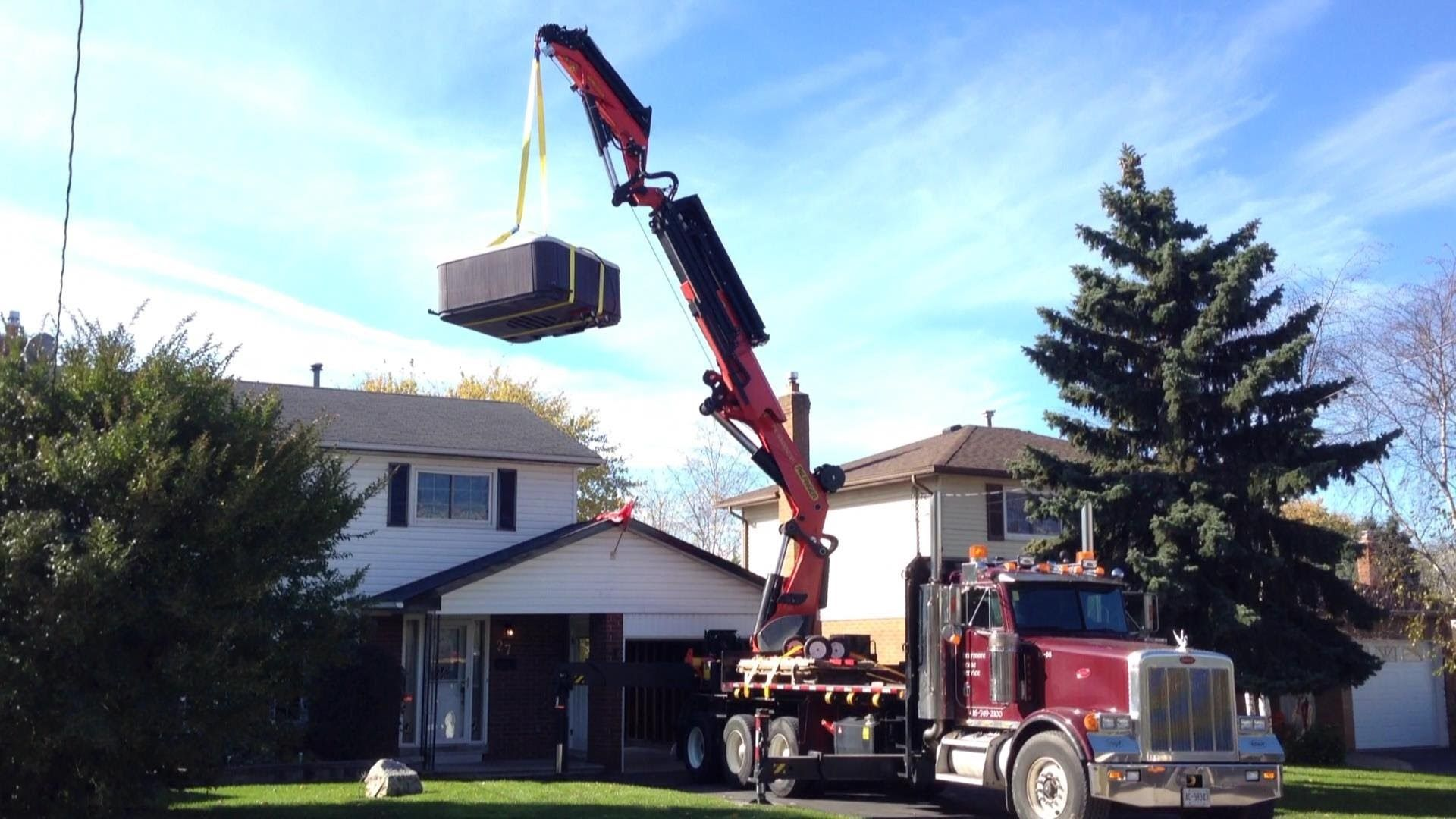 Hot Tub Crane Installation Installations Pinterest Youtube Wiring