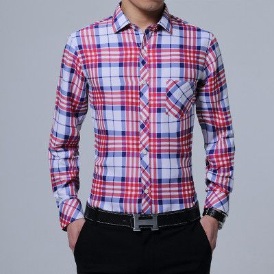 long-sleeved shirts men casual