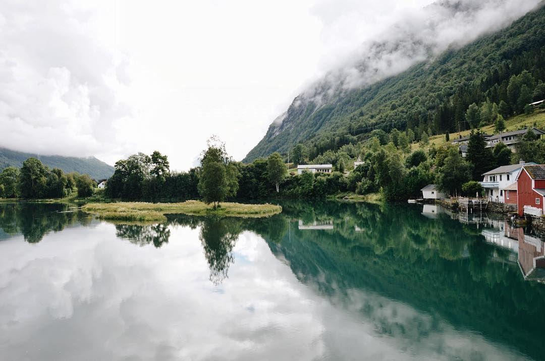 { Quei paesaggi che avevo visto solo sul desktop #Norway  }