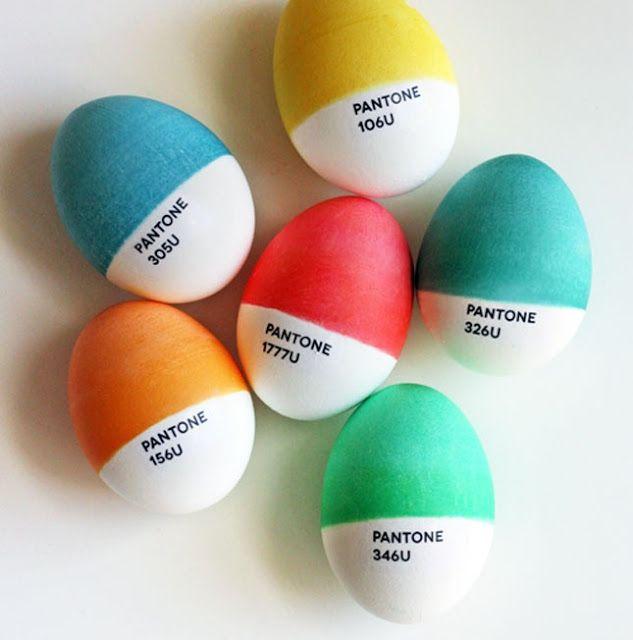 cinnamon in branch: huevos de pascua decorados para hipsters...
