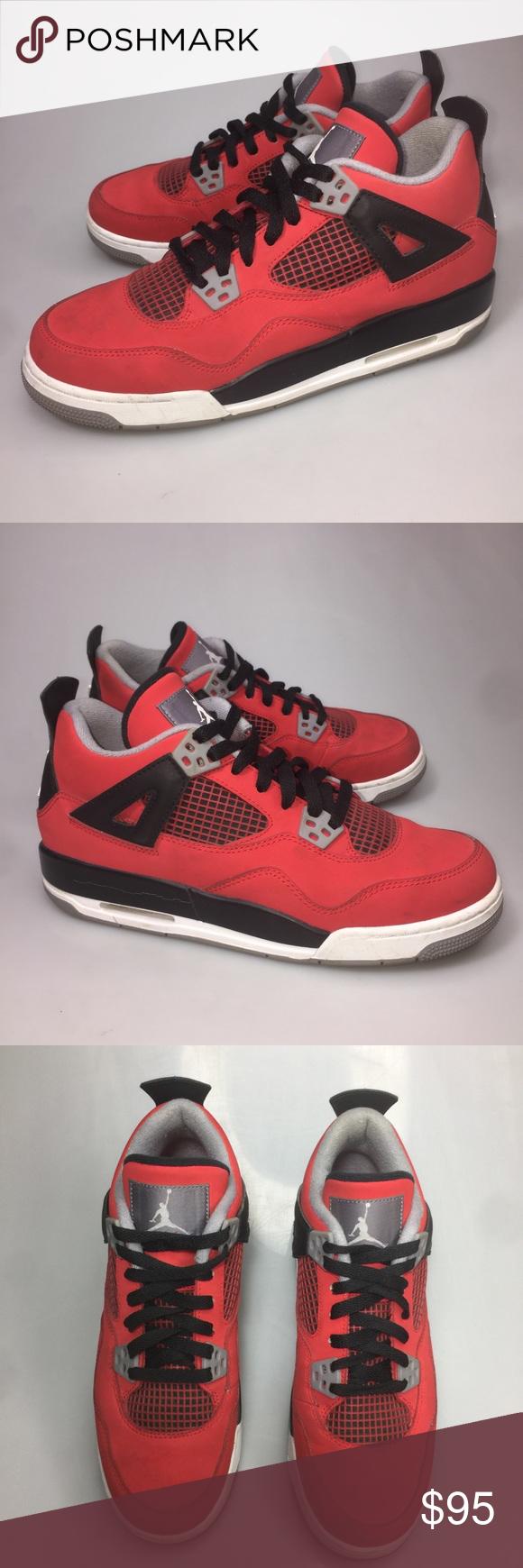 40ac28f654e0 Nike Air Jordan Retro 4 Toro Bravo 7Y Women 8.5 Nike Air Jordan Retro 4 Toro