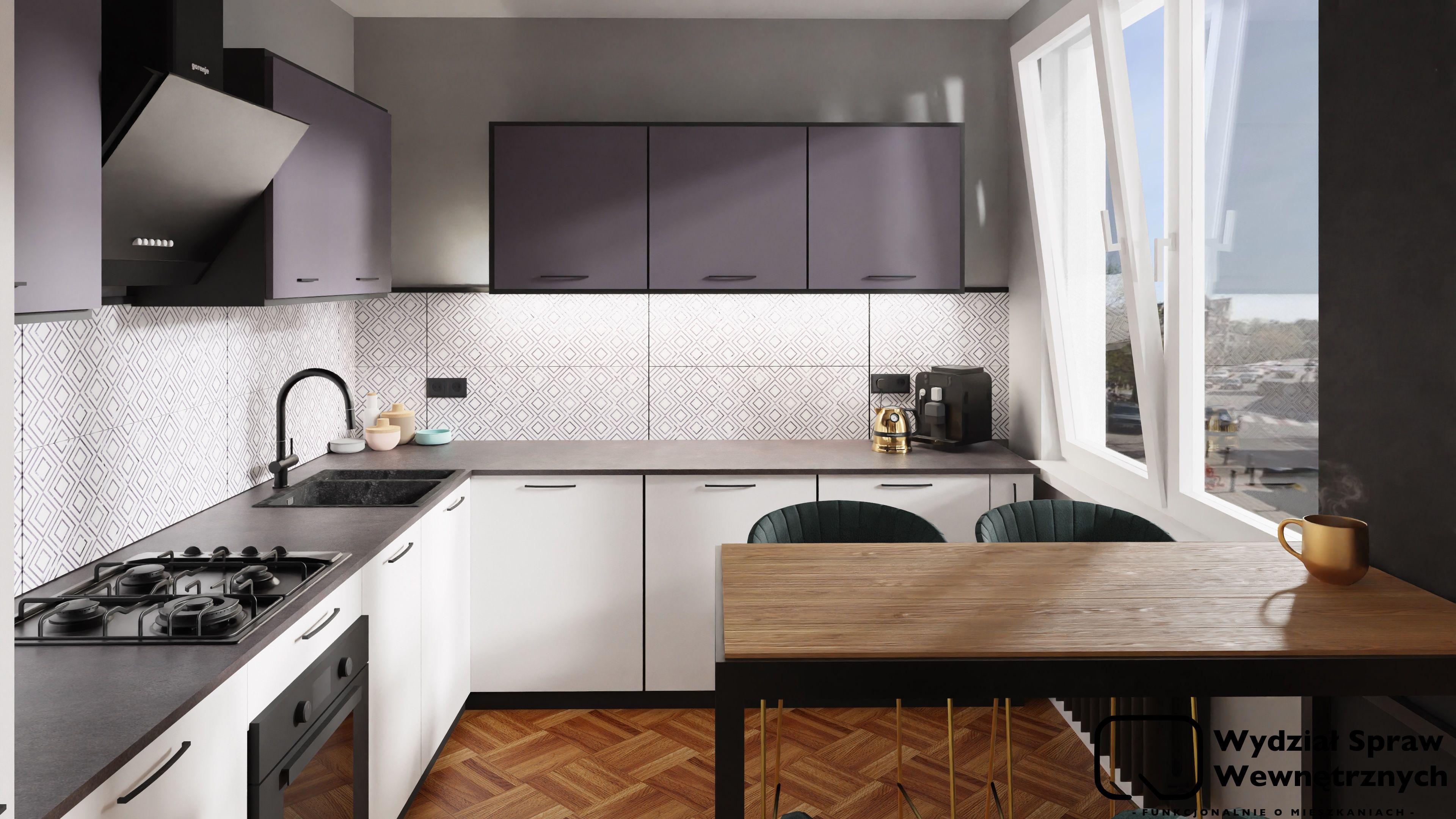 Bialo Grafitowa Kuchnia Kuchnia Agata Meble Prosta Kuchnia Kitchen Kitchen Cabinets Home
