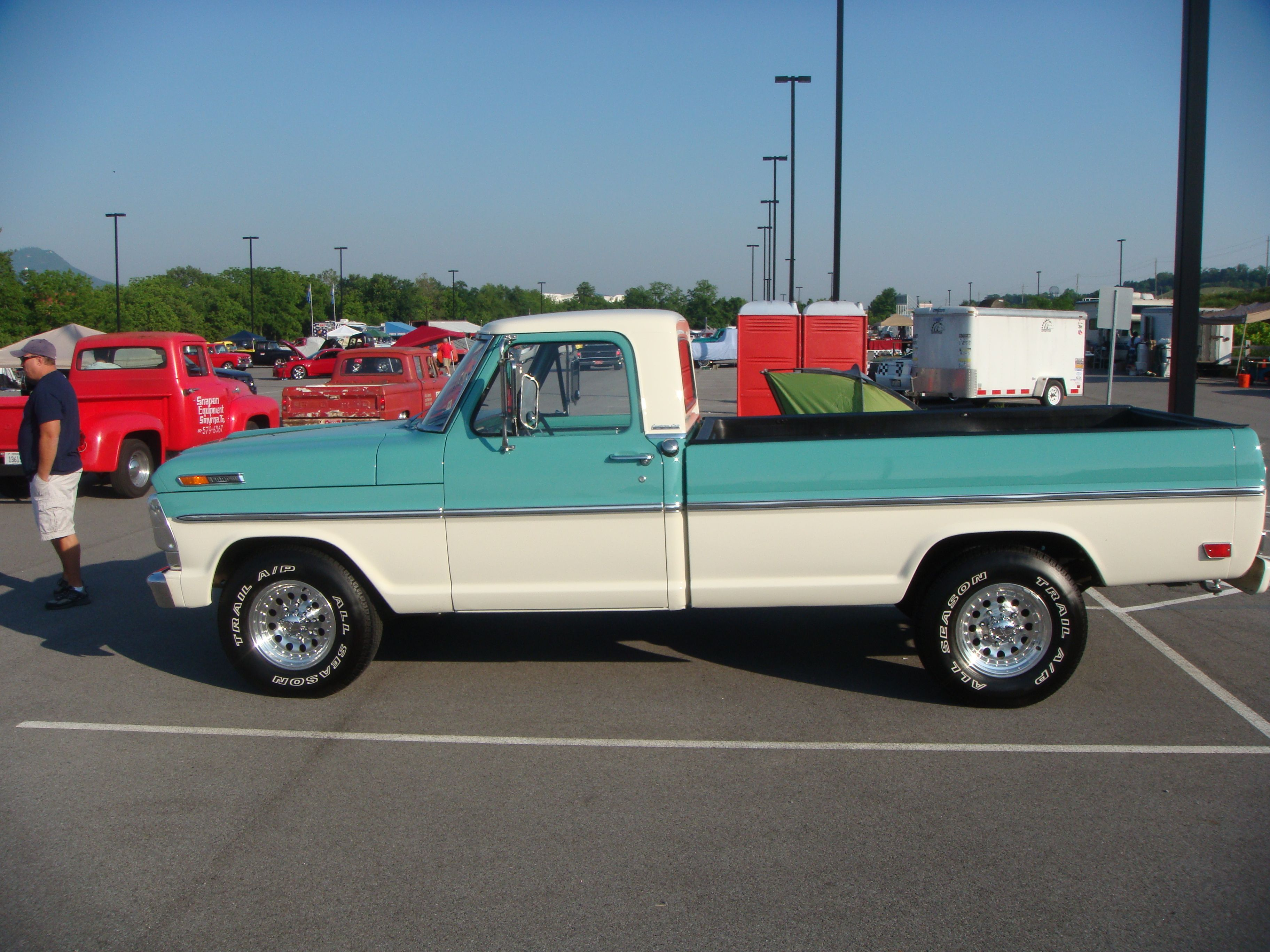 1969 Ford Ranger F-250 , Green, for sale in Jacksonville ... | รถ ...