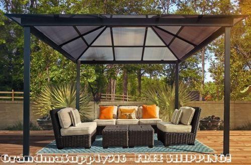 The Perfect Outdoor Hardtop Gazebo 10u0027x13u0027 Pergola Kits For Your Patio,  Available