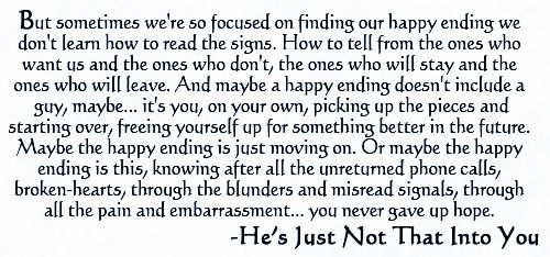 Hes Just Not That Into You Quotes Image Quotes At: Hes Just Not That Into You
