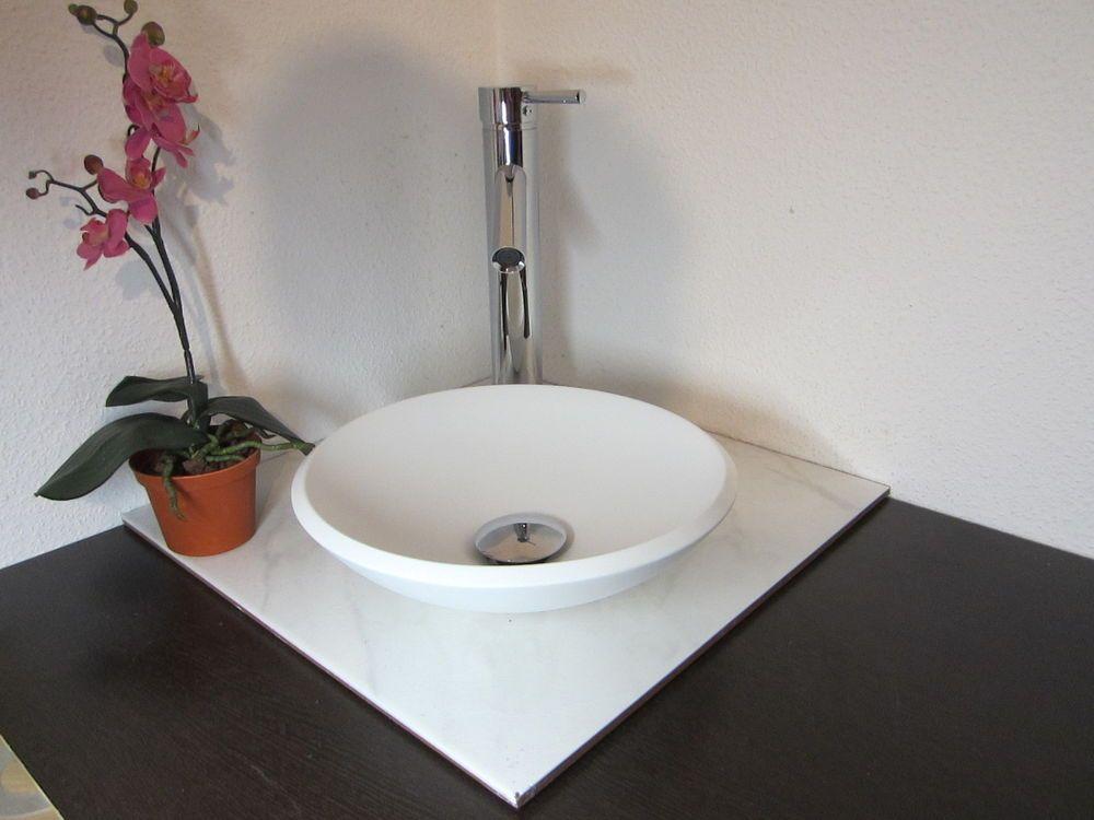 klein aufsatz waschschale waschbecken weiss boot schiff wohnmobil wohnwagen waschbecken. Black Bedroom Furniture Sets. Home Design Ideas
