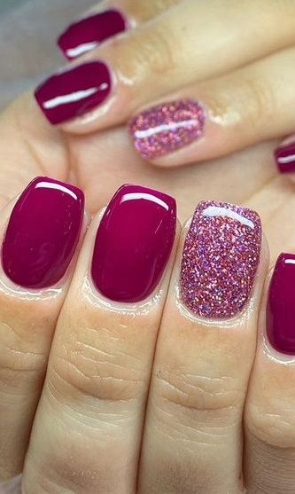 Newest Short Nails Art Designs To Try In 2020 In 2020 Cute Acrylic Nails Short Nails Art Valentines Nails