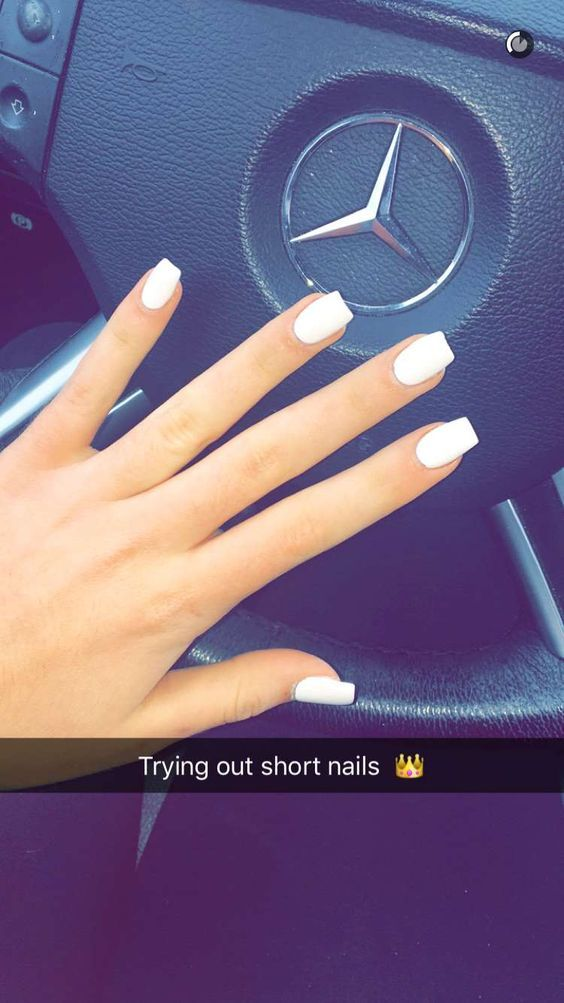 94 Short Acrylic Nails For Almond Coffin Square Point Round Nails