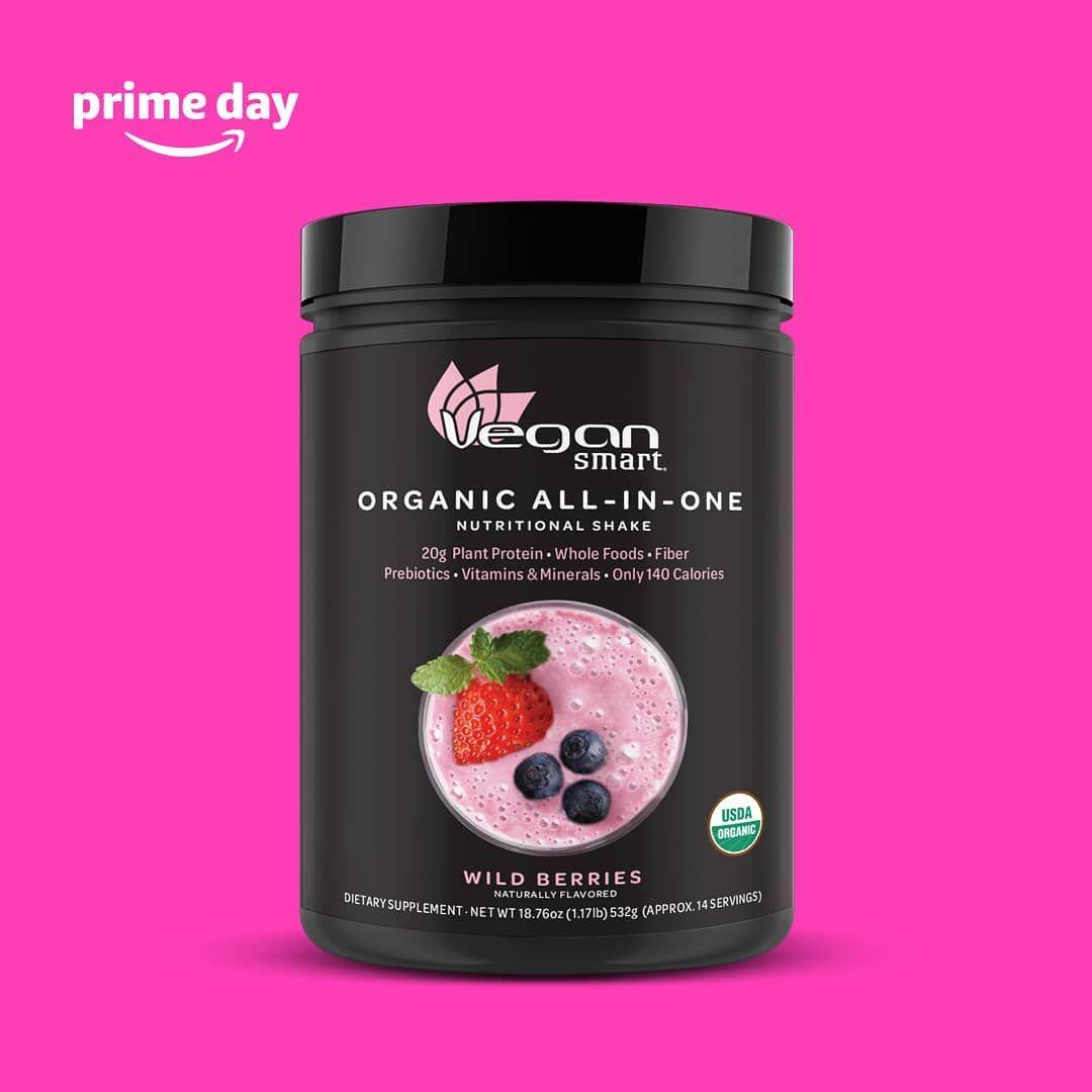 Prime day deal ends tomorrow 7/16 11:59PM.  Complete protein blend, whole food complex, 22 Vitamins...