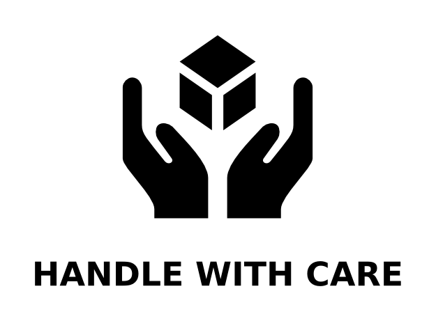 Handle With Care Logo On Logonoid Com Care Logo Care Symbol Invoice Template Word