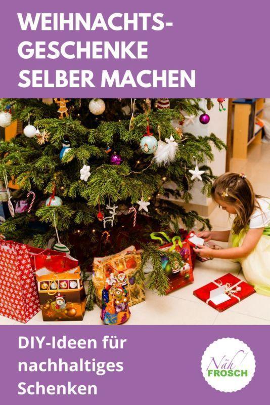 Weihnachtsgeschenke selber machen: Ideen für nachhaltiges Schenken