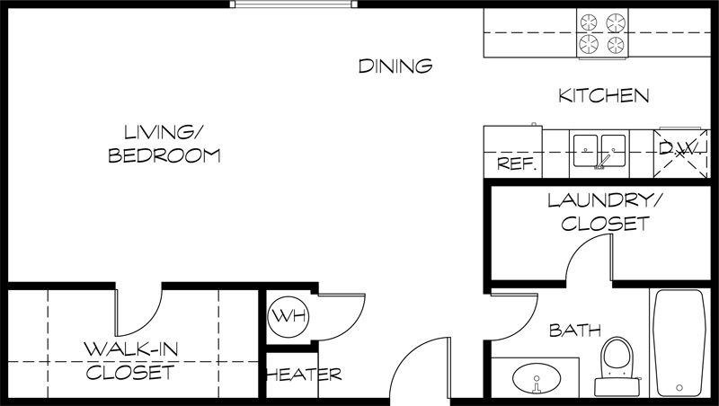300 Square Foot Apartment 300 sq ft apartment floor plan – gurus floor