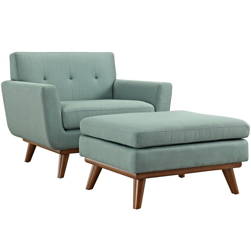 Accent Chair And Ottoman Combo: Johnston Club Chair And Ottoman In 2019