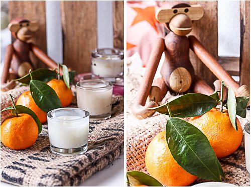 Amalie loves Denmark DIY scented candles with mandarin oil