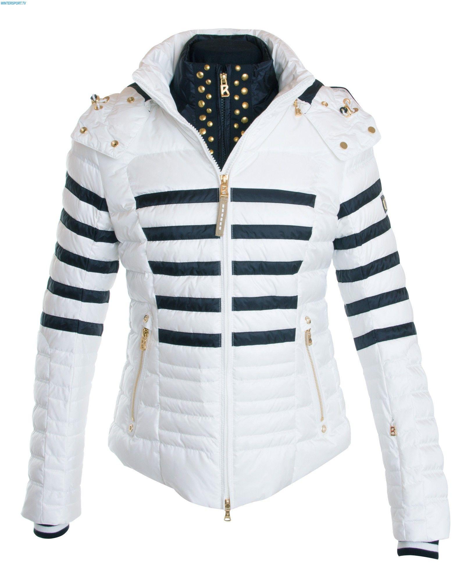 015ddc4434 Bogner Women Eni D Jacket - Offwhite