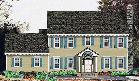 Three Terraces - 99934MW | Colonial, 2nd Floor Master Suite, Den-Office-Library-Study, PDF, Corner Lot | Architectural Designs