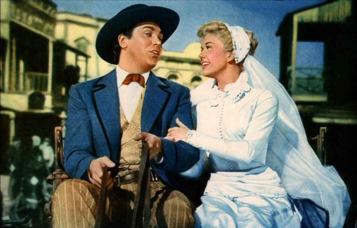 "Doris Day and Howard Keel in ""Calamity Jane"""