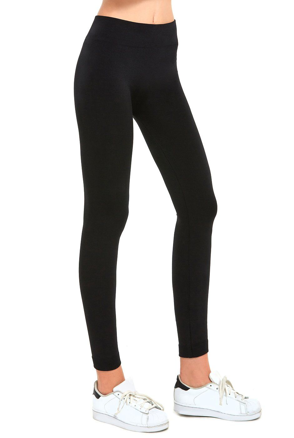 be43d5bb12c Mopas Teejoy Womens Seamless Fleece Leggings Black -- Check out the image  by visiting the link. (This is an affiliate link)