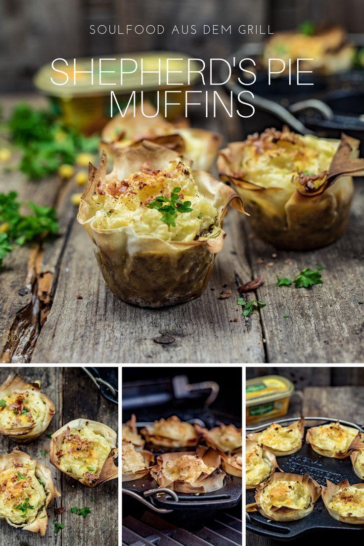 Shepherd's Pie Muffins - ein traditioneller Auflauf vom Grill | LivingBBQ.de