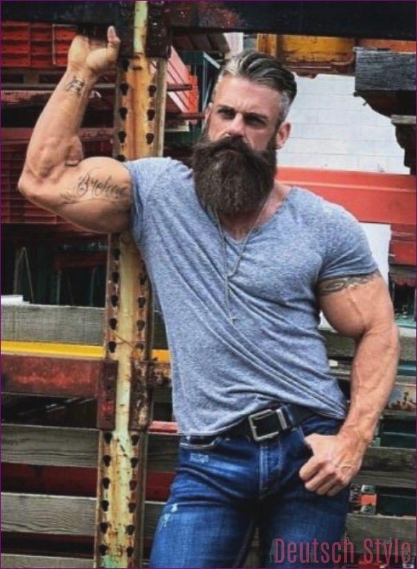 40 acconciature alla moda per uomo con barba – stile tedesco