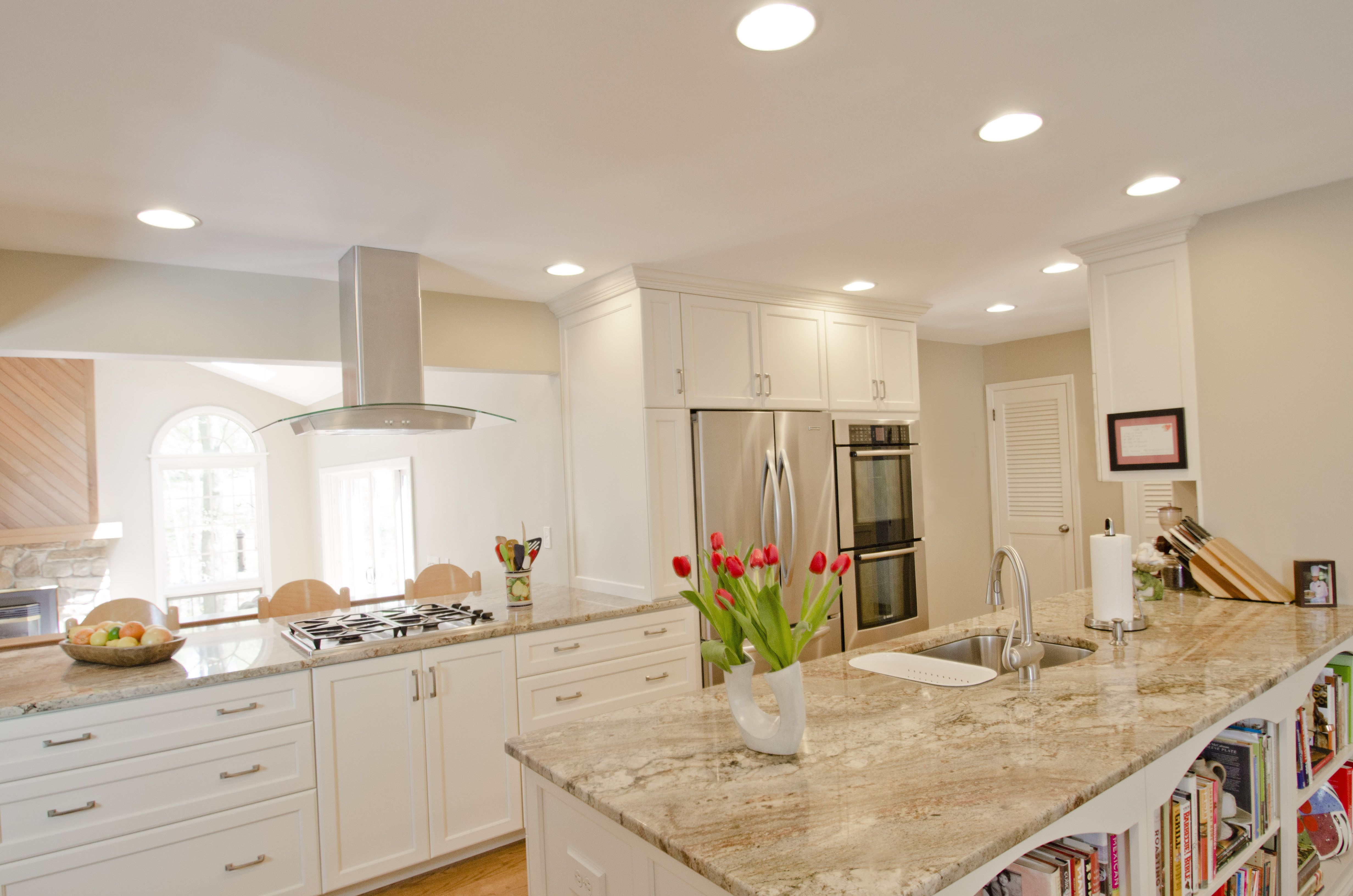 angled semi open galley kitchens   Kitchen : Galley Kitchen Remodel ...