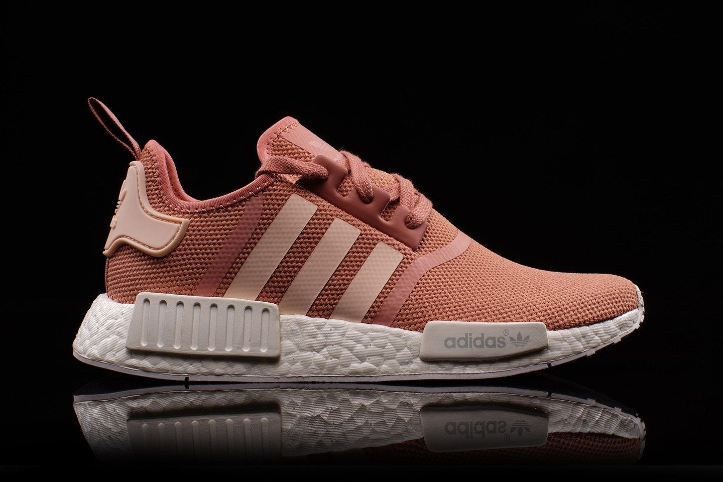 be3eb1bed80ac rose gold pink adidas shoes womens adidas nmd r1 casual shoes ...