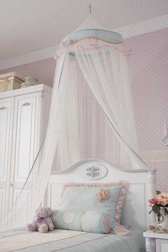Casas elegantes dormitorios infantiles buscar con google for Decoracion de habitacion de bebe nina