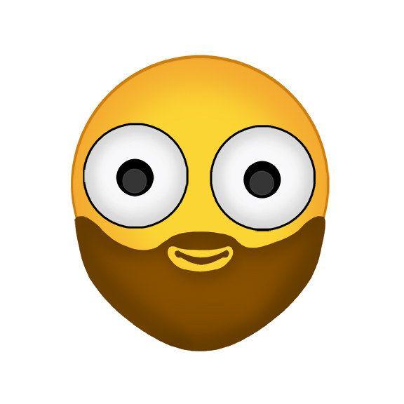 I M Ovulating And I Just Saw A Hot Guy With A Beard Yes Please Emoji All Emoji Emoji Update