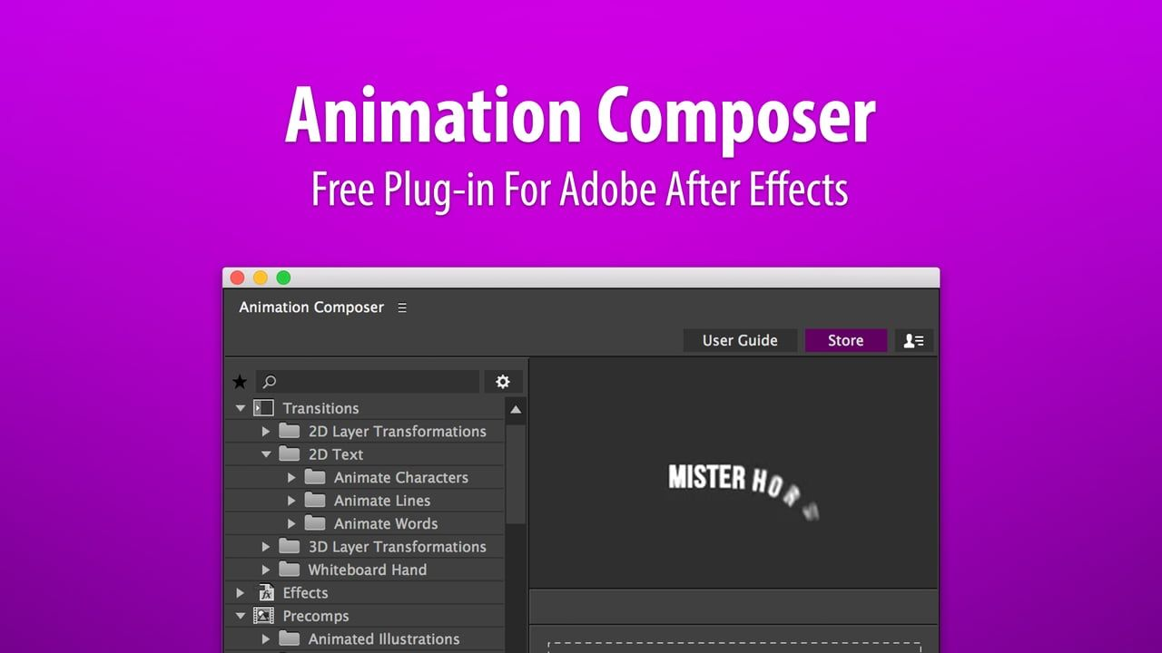 Free: Mister Horse Animation Composer 2 – Workflow Tools for