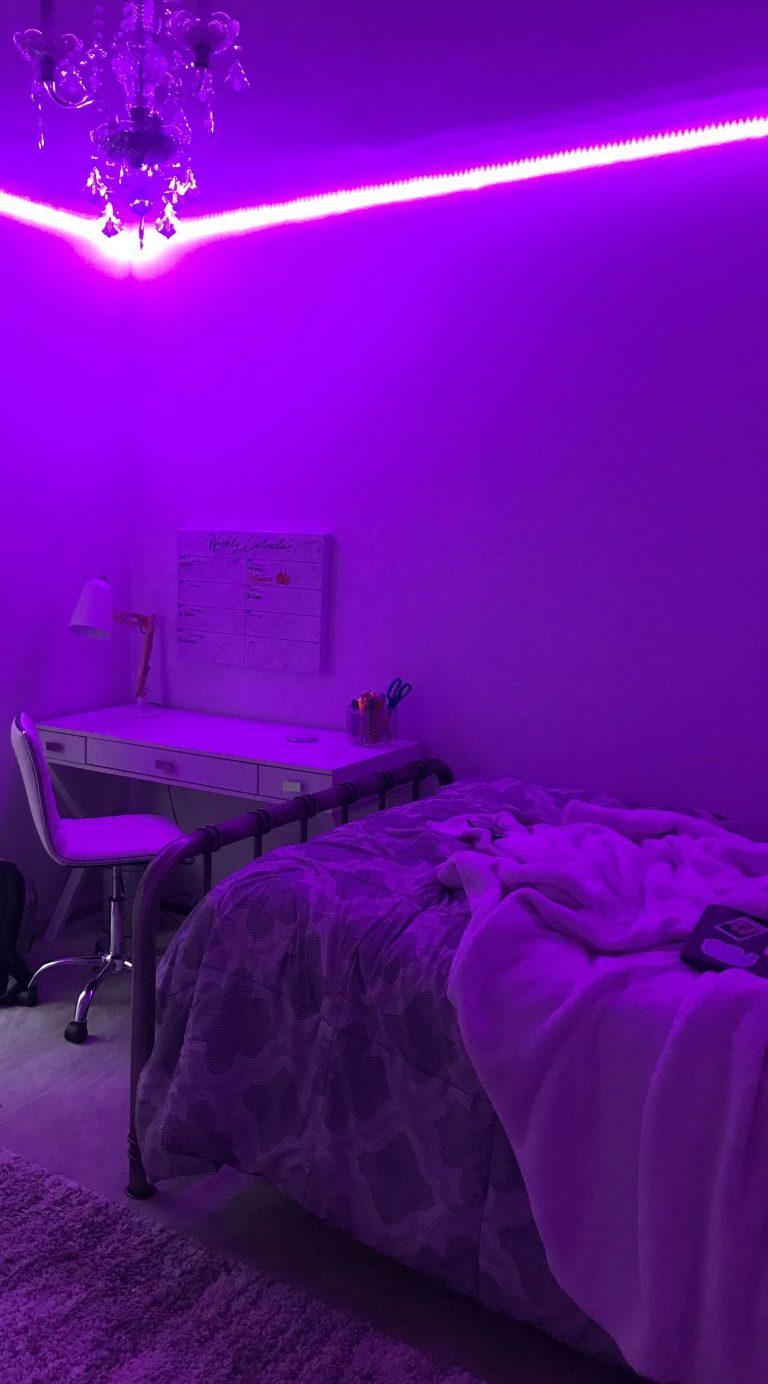 Teenage Girl Room Ideas With Led Lights Novocom Top