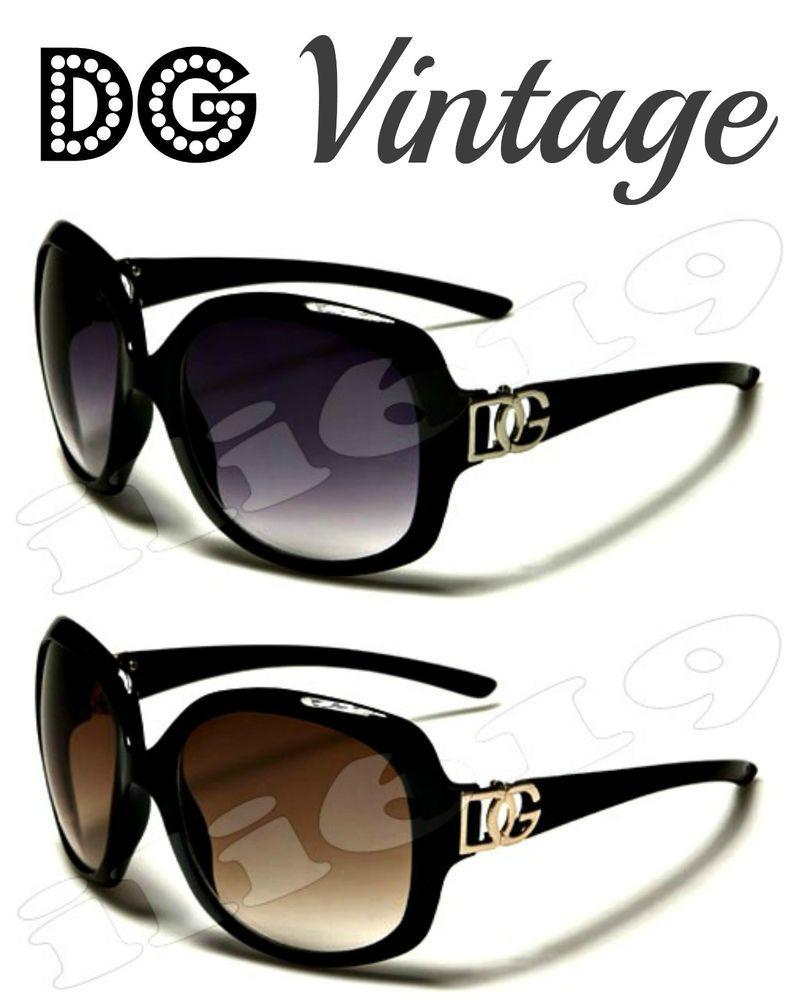 DG Eyewear Designer Shades Women Ladies Vintage Trendy Cool Fashion Sunglasses