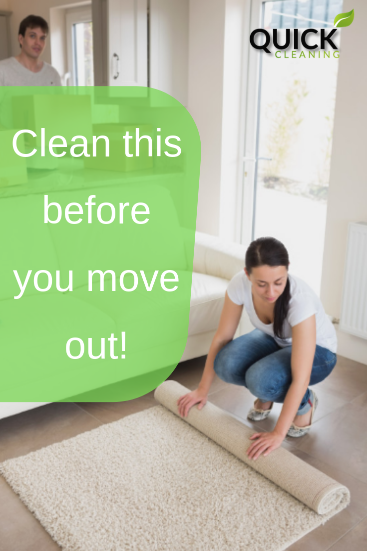 What Should I Clean Before Leaving My Rental Unit Move Out