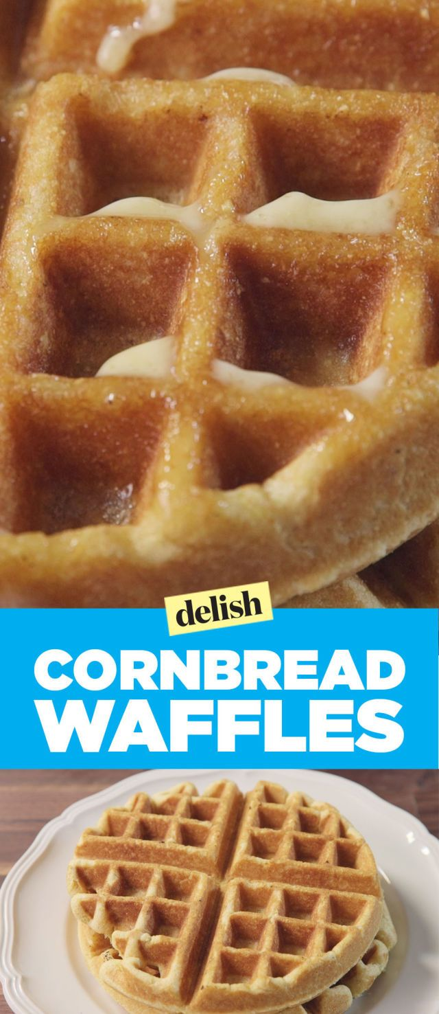 The Best Way To Make Cornbread In A Waffle Maker Waffle Maker Recipes Cornbread Waffles Waffle Iron Recipes