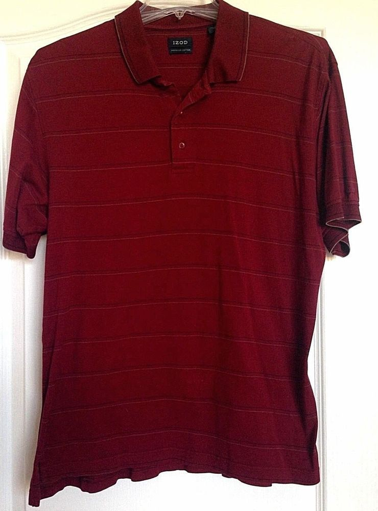 20afa814cc7c Latest Golf T Shirts Ideas  golfshirts  golftee  golftshirt Men s IZOD Red  With Stripes