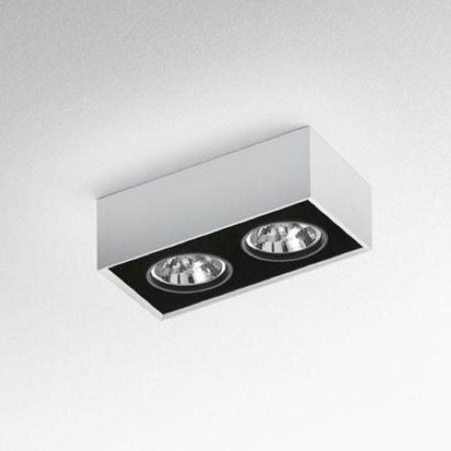 Artemide - Nothing 2 Deckenleuchte - weiß/inkl. elektronischem Trafo/2 Lichtquellen