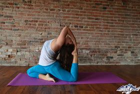 Chickadee Says: Hip Opening Yoga Poses
