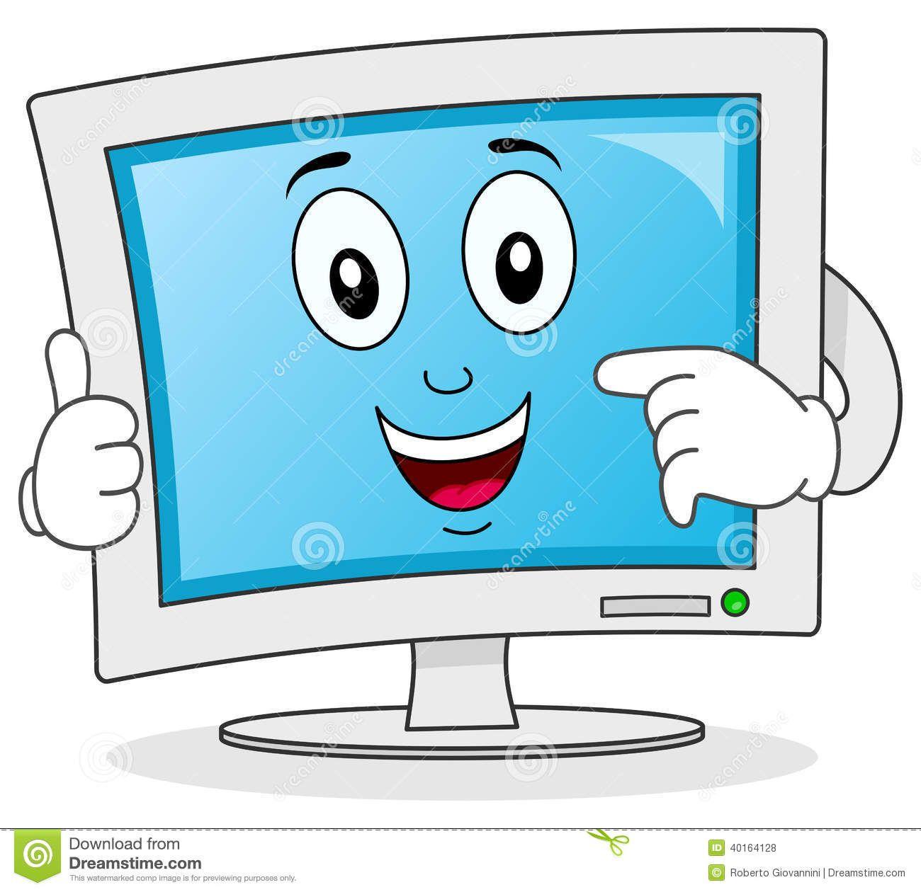 Resultado De Imagen Para Imagenes De Monitores Animadas Imagenes De Monitores Libros De Informatica Computadora Para Ninos