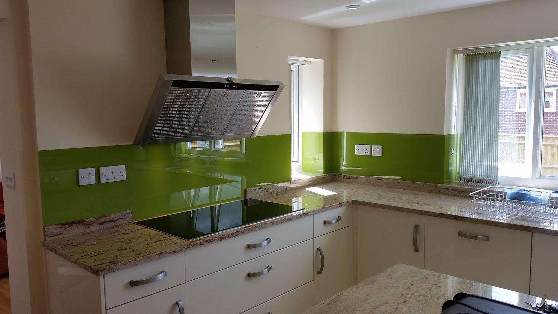 Moderne Küche Splashbacks Küchen zum Glück, entweder in der Art ...