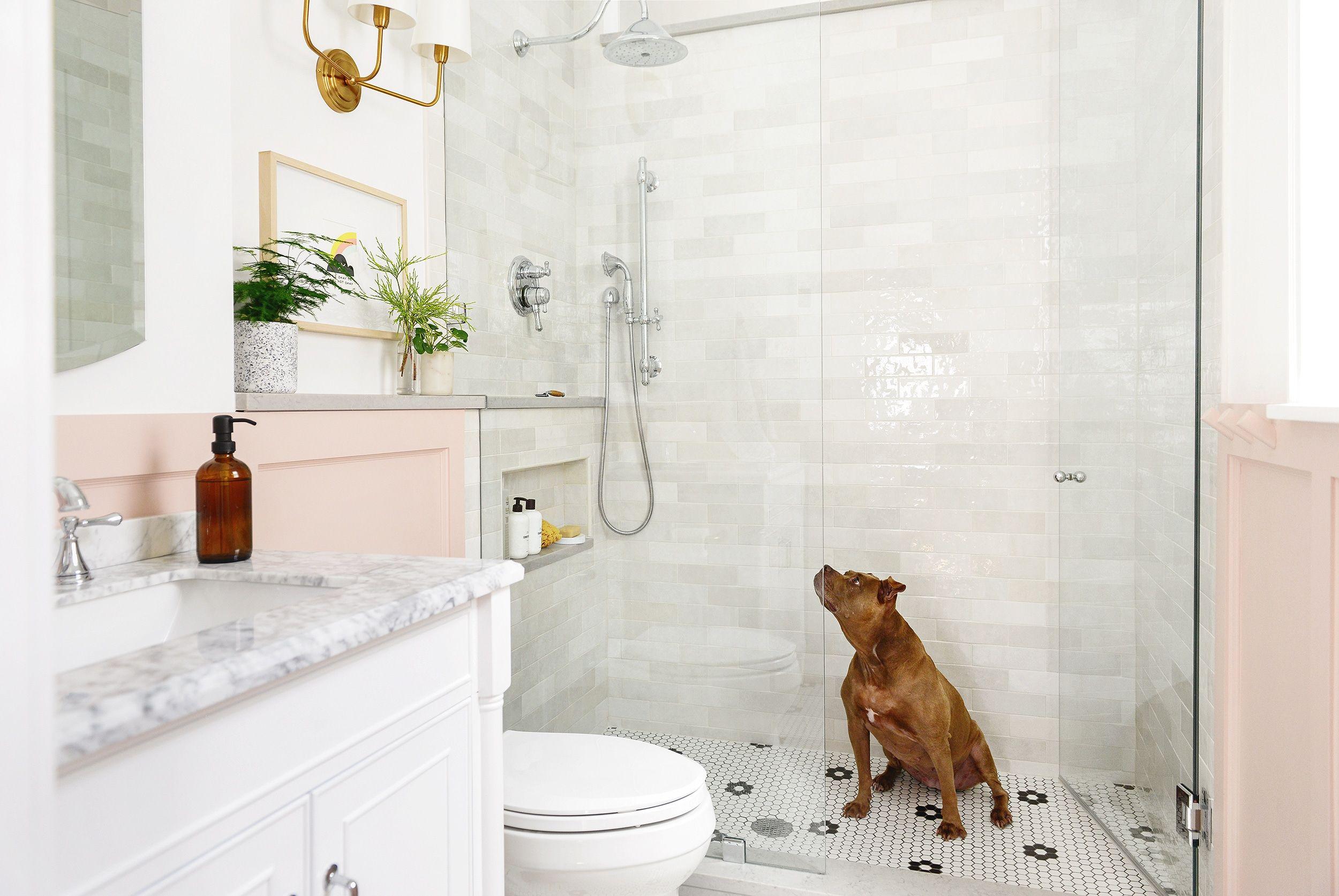 Yellow Brick Home Does A Bathroom Renovation Increase A Home S Roi Bathroom Renovation Walk In Shower Designs Small Bathroom