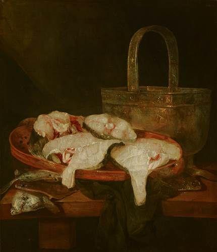 Date unknown - Beyeren, Abraham van -, Visstilleven