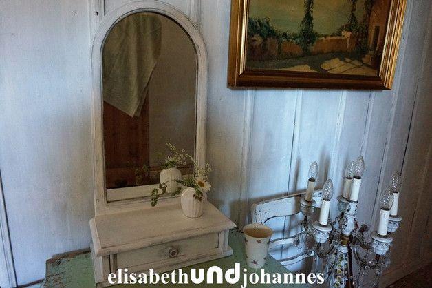 Spiegel Badezimmerschrank ~ Uralt! spiegel schrank frankreich shabby chic interiors