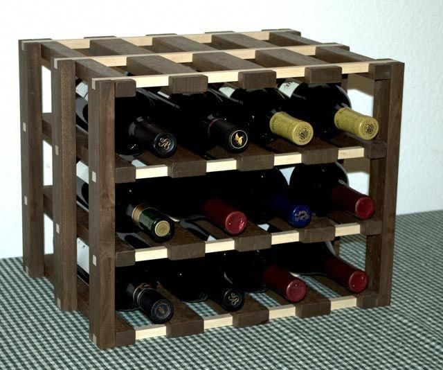 The Runnerduck Wine Rack Step By Step Instructions On How To Make